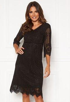 Happy Holly Jenna lace dress Black Bubbleroom.dk