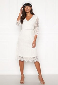 Happy Holly Jenna lace dress White Bubbleroom.dk