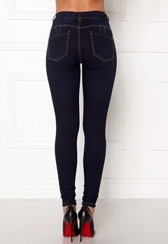 Happy Holly Jess jeggings Dark denim Bubbleroom.dk