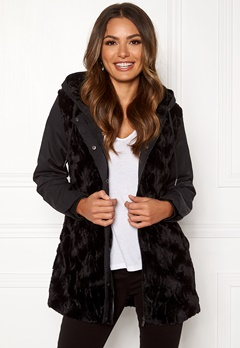Happy Holly Josephine jacket Black Bubbleroom.dk