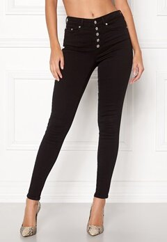 Happy Holly Josie jeans Black Bubbleroom.dk