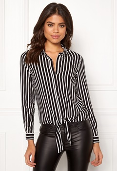 Happy Holly Juliette knot shirt Striped Bubbleroom.dk