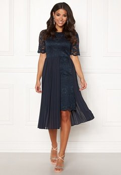 Happy Holly Kajsa dress Dark blue Bubbleroom.dk