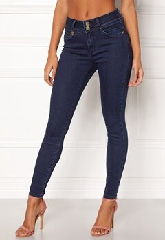 Happy Holly Karen jeans Dark denim Bubbleroom.dk
