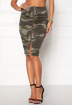Happy Holly Laila skirt Camouflage Bubbleroom.dk