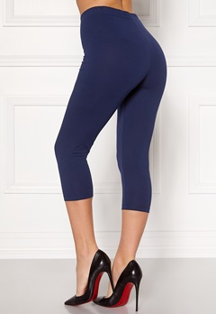 Happy Holly Beata Crop leggings Navy / Black Bubbleroom.dk