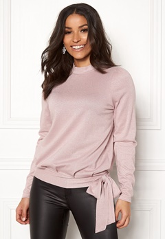 Happy Holly Lily lurex top Pink Bubbleroom.dk