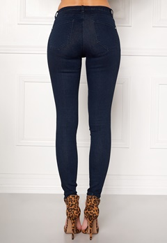 Happy Holly Limone jeans Dark denim Bubbleroom.dk
