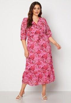 Happy Holly Linn maxi dress Pink Bubbleroom.dk