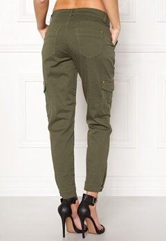 Happy Holly Lucy trousers Khaki green Bubbleroom.dk
