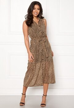 Happy Holly Maddy dress Leopard Bubbleroom.dk