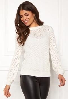 Happy Holly Malinda sweater Light beige Bubbleroom.dk