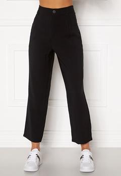 Happy Holly Maria straight leg pants Black Bubbleroom.dk