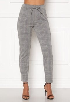 Happy Holly Mathilda high waist tricot pants Checked Bubbleroom.dk
