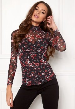 Happy Holly Megan mesh top Patterned Bubbleroom.dk
