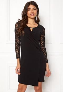 Happy Holly Melina dress Black Bubbleroom.dk