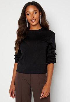 Happy Holly Melina sweater Black bubbleroom.dk