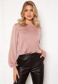 Happy Holly Melina sweater Dusty pink Bubbleroom.dk