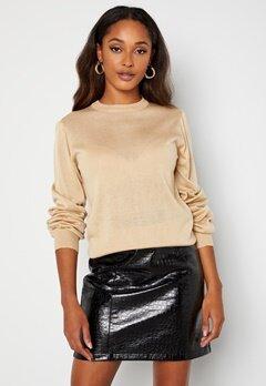Happy Holly Melina sweater Light beige bubbleroom.dk