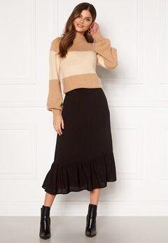 Happy Holly Melony skirt Black Bubbleroom.dk