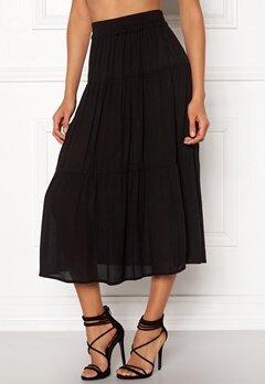 Happy Holly Mia skirt Black Bubbleroom.dk