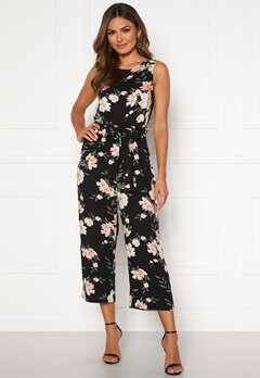 Happy Holly Mollie jumpsuit Black / Patterned Bubbleroom.dk