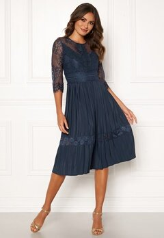 Happy Holly Monica dress Dark blue Bubbleroom.dk