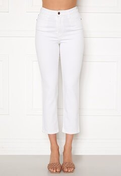 Happy Holly Peggy straight leg jeans White Bubbleroom.dk