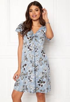 Happy Holly Reanna dress Medium blue / Patterned Bubbleroom.dk