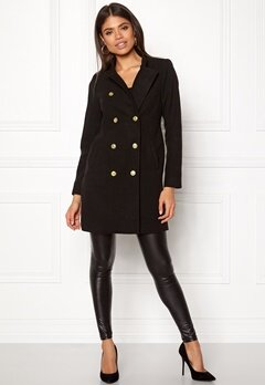 Happy Holly Rebecca coat Black Bubbleroom.dk