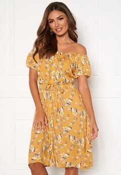 Happy Holly Rebecca dress Yellow / Patterned Bubbleroom.dk