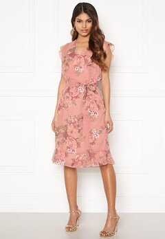 Happy Holly Sally dress Pink / Floral Bubbleroom.dk