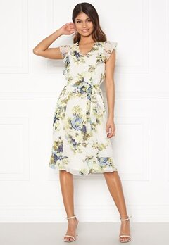 Happy Holly Sally dress White / Floral Bubbleroom.dk