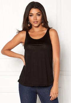 Happy Holly Sally Top Black Bubbleroom.dk