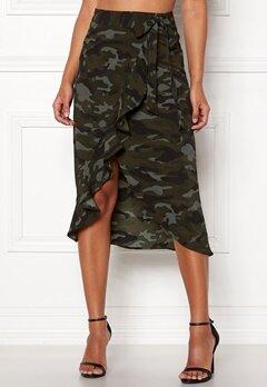 Happy Holly Sandie skirt Camouflage Bubbleroom.dk