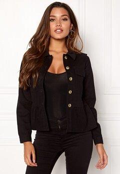 Happy Holly Sanne jacket Black Bubbleroom.dk