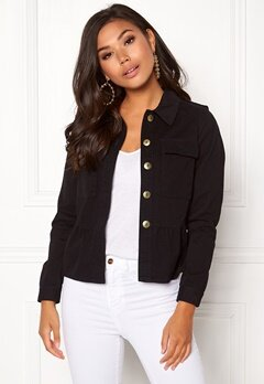 Happy Holly Sanne jacket Black Bubbleroom.dk