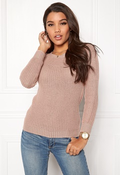 Happy Holly Sara sweater Dusty pink Bubbleroom.dk