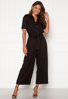 Happy Holly Sarah utility jumpsuit Black Bubbleroom.dk