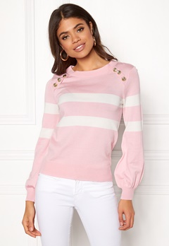 Happy Holly Sasha sweater Pink Bubbleroom.dk