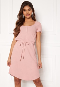 Happy Holly Serena dress Dusty pink Bubbleroom.dk