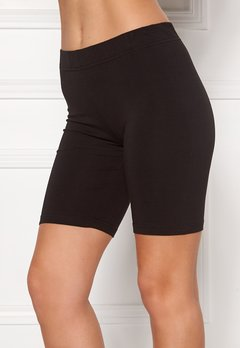 Happy Holly Sofia short leggings Black Bubbleroom.dk