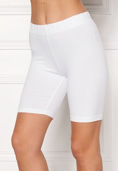 Happy Holly Sofia short leggings White Bubbleroom.dk