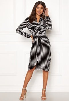 Happy Holly Sophia shirt dress Striped Bubbleroom.dk