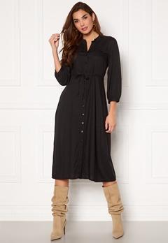 Happy Holly Sophie Midi dress Black Bubbleroom.dk