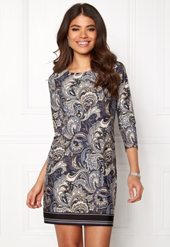 Happy Holly Taylor dress Blue / Patterned Bubbleroom.dk