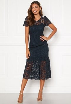 Happy Holly Taylor occasion lace dress Dark blue Bubbleroom.dk