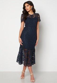 Happy Holly Taylor occasion lace dress Dark blue Bubbleroom.dk