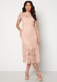 Happy Holly Taylor occasion lace dress Light pink Bubbleroom.dk