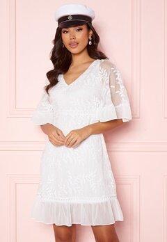 Happy Holly Teresa dress White Bubbleroom.dk